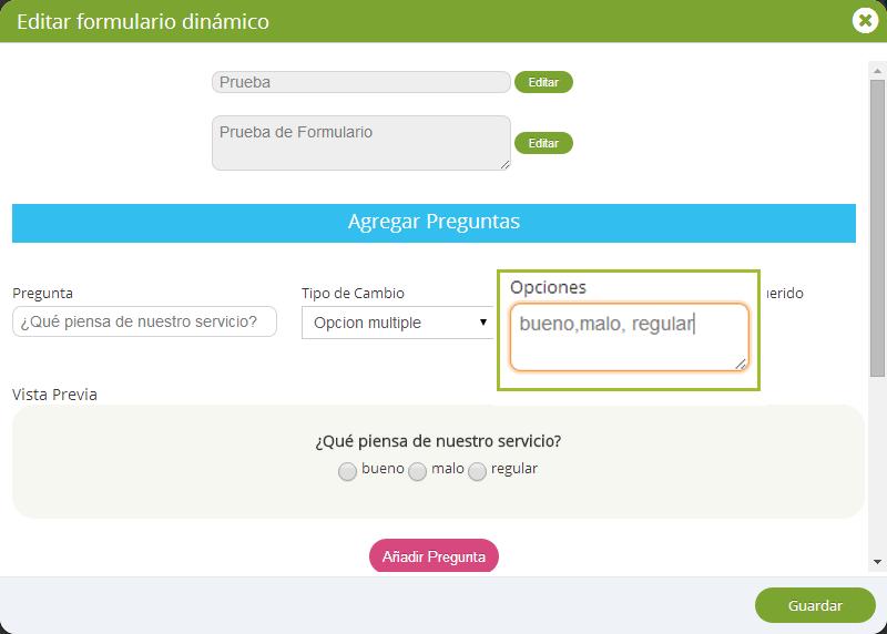 ¿Cómo crear un formulario dinámico?
